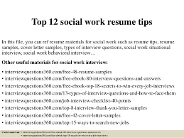 social worker resumes top 12 social work resume tips 1 638 jpg cb 1430691928