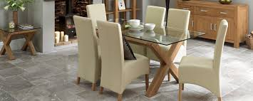 Glass Dining Tables Buy Online Park Furnishers - Glass kitchen tables
