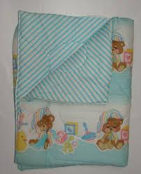 Morgan Convertible Crib by Vtg Morgan Teddy Beddy Bear Sleepy Bag Baby Crib Blanket White