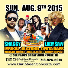 Six Flags Movies Six Flags Caribbean Concerts 10th Anniversary