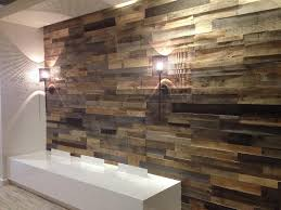 reclaimed wood panels effect faux wallpaper unique reclaimed