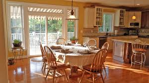 Kitchen With Light Oak Cabinets Wondrous Apartment Kitchen Decor Shows Terrific Kitchen Paint