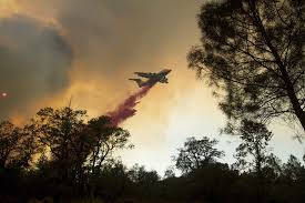 Ca Wildfire Containment by Nature Lends A Hand In Fight Against Three Massive California