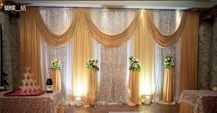 backdrops for 2017 wedding backdrops for wedding decoration twinkle stage drape