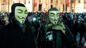 anonymous mask spirit halloween million mask march anonymous u0027 global guy fawkes protest youtube