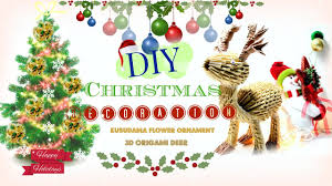 diy christmas decorations kusudama u0026 3d origami modular youtube