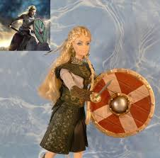 lagertha lothbrok clothes to make the vikings ooak doll barbie lagertha lothbrok shield maiden