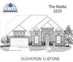 the abelia the arbor at willow grove new home floor plan