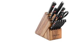 wüsthof classic choose your own block 14 piece cutlery set