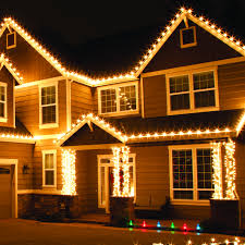 Christmas Light Ideas For Outside Of House by Simple Design C9 Outdoor Christmas Lights Ideas For The Roof