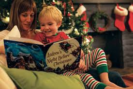 personalized christmas for kids the family that reads together stays together