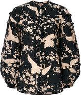bird blouse bird print blouse shopstyle