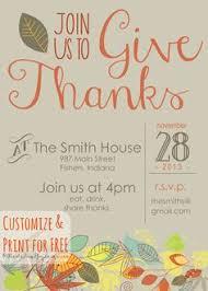thanksgiving invitation template diy printable thanksgiving