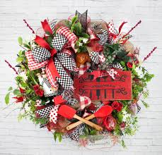 Kitchen Chef Decor by Chef Wreath Chef Welcome Wreath Kitchen Wreath Everyday