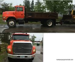 Dodge 3500 Dump Truck With Plow - dump trucks
