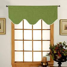Lime Green Valances Living Room Curtains With Valance Amazon Com