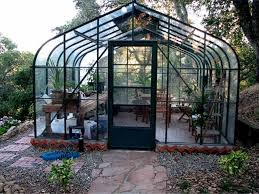modern greenhouse with umique shape popular greenhouse for
