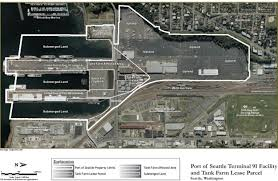 Old Map Of Seattle by Site Information