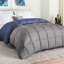 Washing Down Alternative Comforter Reversible Down Alternative Microfiber Comforter Linenspa