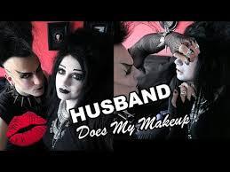makeup black friday goths do husband does my makeup black friday youtube