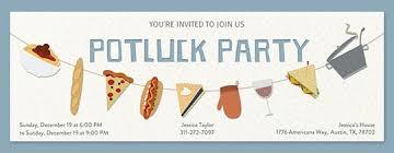 potluck online invitations evite com