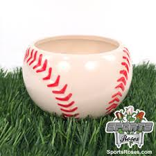Ceramic Football Vase Baseball Planter Vase