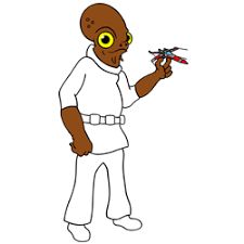 how to draw admiral ackbar from star wars