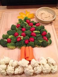 christmas tree veggie platter simply made