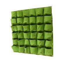 amazon com prudance vertical wall garden planter 36 pockets