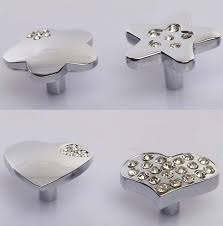 Kitchen Cabinet Hardware Pulls And Knobs Crystal Single Hole Decorative Kitchen Cabinet Hardware Handle