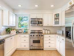 Country Kitchens With White Cabinets by Country Kitchen With U Shaped U0026 Raised Panel Zillow Digs Zillow