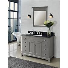 Bathroom Vanity With Makeup Counter by Bathroom Gray Bathroom Vanity With Drawers 48 Chapman Vessel