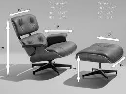 furniture best furniture brown leather eames lounge chair