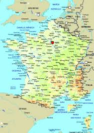 Maps Of France by Map Of France Maps Worl Atlas France Map Online Maps Maps Of