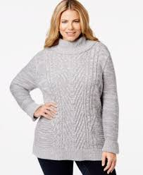 plus size cable knit sweater plus size cable knit turtleneck sweater only at