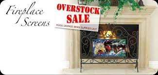 Hand Painted Fireplace Screens - hand painted glass art fireplace screens make perfect gifts and
