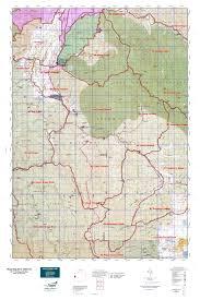 Wyoming Topo Map Wyoming Elk Gmu 84 Map Mytopo