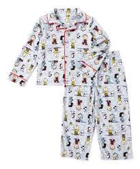 peanuts by charles schulz peanuts characters pajama set toddler