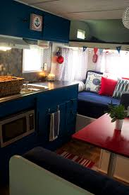 Camper Interior Decorating Ideas by 86 Best Great Rv Interiors Images On Pinterest Travel Trailer