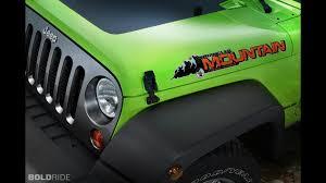 wrangler jeep green jeep wrangler mountain special edition