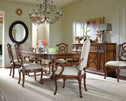 stanley furniture dining room set continuum 7 pc double pedestal