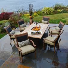 Fire Patio Table by Attractive Outdoor Firepit Patio Sets U2014 Amazing Homes