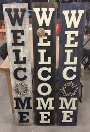 front porch welcome sign the makery