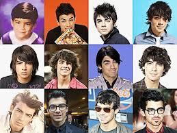hairstyles through the years the many hairstyles of joe jonas oceanup teen gossip