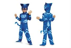 super cute blue catboy costume halloween inspired pj masks