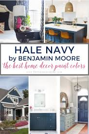 best navy blue paint color for kitchen cabinets the best home decor paint colors hale navy the turquoise home