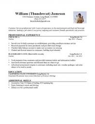 Simple Example Of Resume by Examples Of Resumes Good That Get Jobs Financial Samurai With