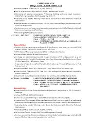 Qa Qc Inspector Resume Sample by Sample Resume Of Qaqc What Is Modern Essay