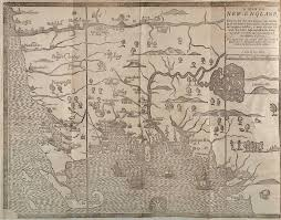 New England Maps by A Map Of New England And New York By John Speed 1676 2638x2000