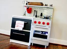 cuisine enfant vintage manly diy play kitchen ikea hackers